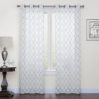 SONOMA Goods for Life™ 2-pack Fret Embroidery Window Curtains