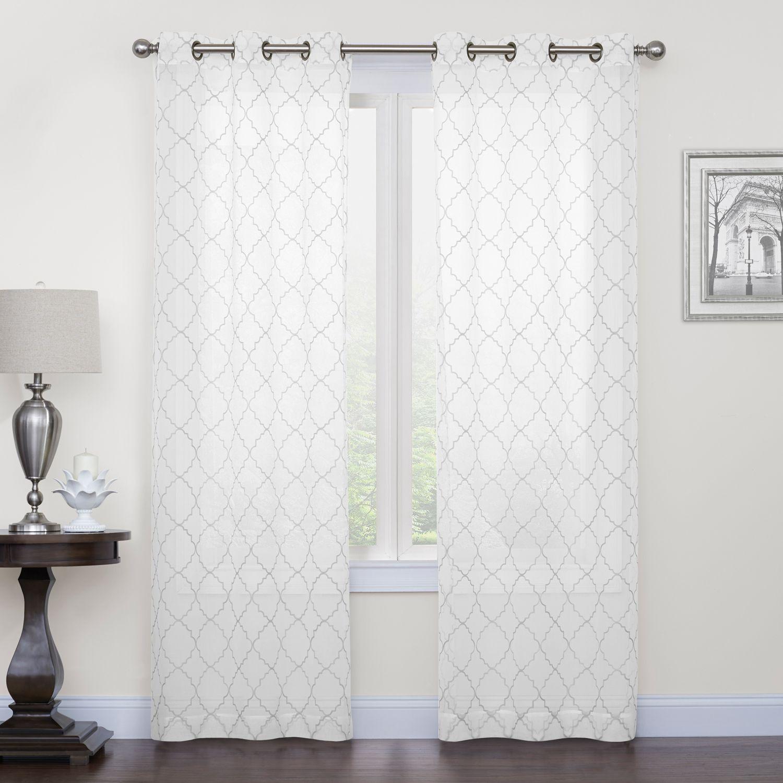 white bedroom curtains drapes window treatments home decor kohl s rh kohls com
