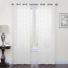 White Bedroom Curtains & Drapes - Window Treatments, Home Decor | Kohl\'s