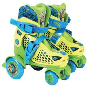 Youth Teenage Mutant Ninja Turtles Big Wheel Quad Roller Skates by Playwheels