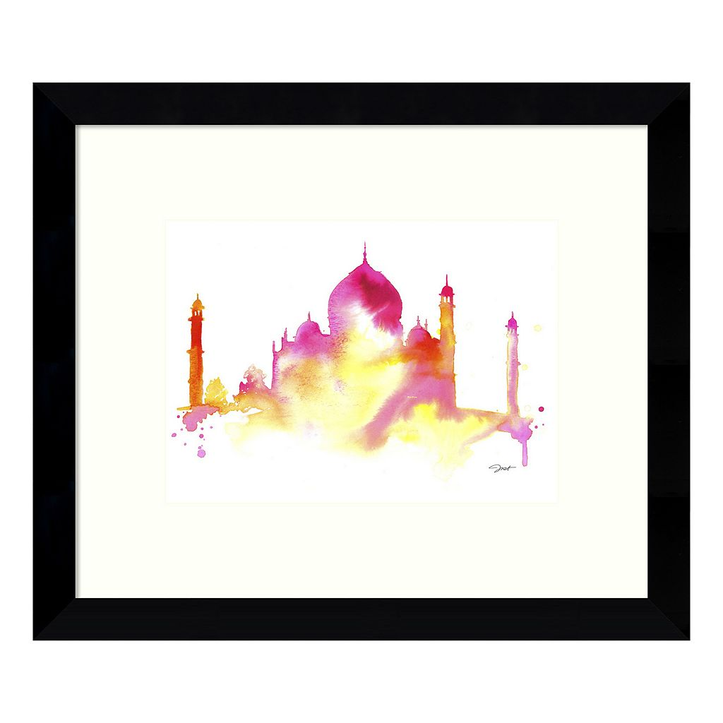 India Dreams Framed Wall Art