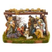 Kurt Adler 4.5-in. Christmas Nativity Scene