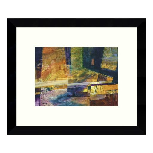588 Abstract Framed Wall Art