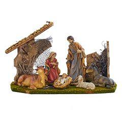 Kurt Adler 10-in. Christmas Nativity Scene