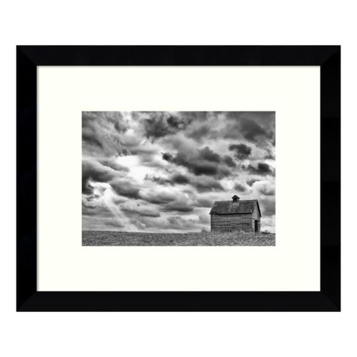 On The Hill Barn Framed Wall Art