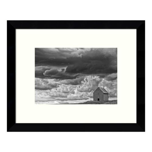 All Alone Barn Framed Wall Art