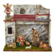 Kurt Adler 7-pc. Musical Christmas Nativity Scene