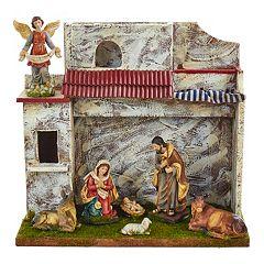 Kurt Adler 7-pc. Musical Christmas Nativity Scene