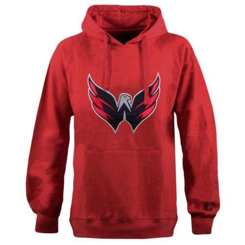 Men's Old Time Hockey Washington Capitals Grover Fleece Hoodie