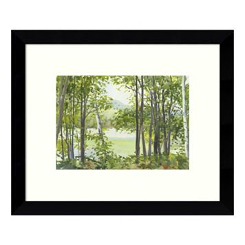 Summer Lake V Framed Wall Art