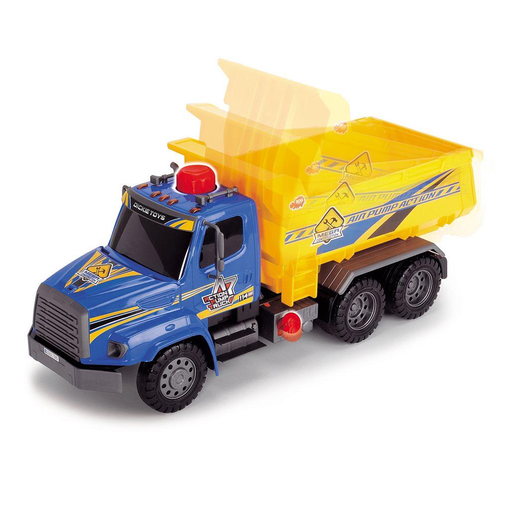 Dickie Toys Air Pump Action Dump Truck