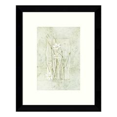 Entwined Elegance Daisies Framed Wall Art
