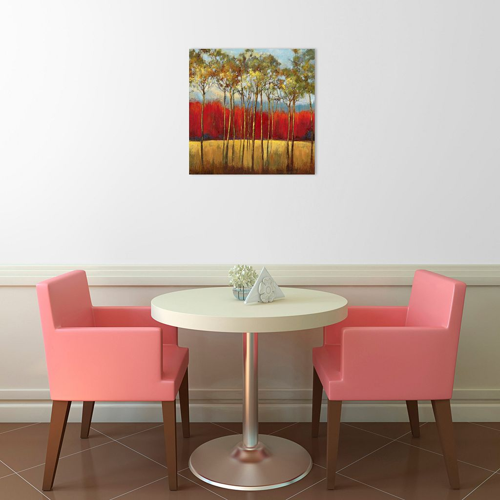 In The Horizon I Canvas Wall Art