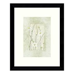 Entwined Grace Daisies Framed Wall Art