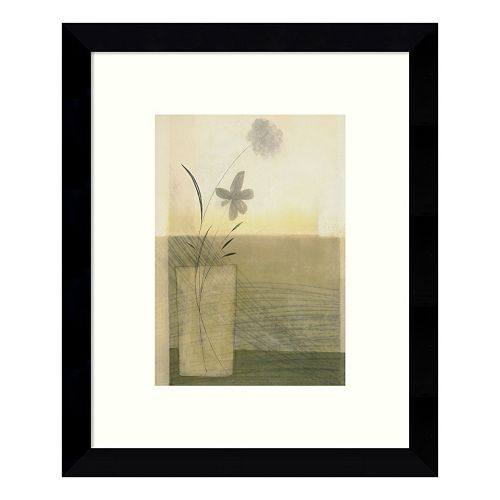 Morning Blooms Floral Framed Wall Art