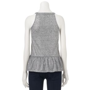Women's Juicy Couture Metallic Halter Top
