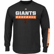 Men's Majestic San Francisco Giants Proven Pasttime Long-Sleeve Tee