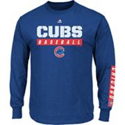 Men's Majestic Chicago Cubs Proven Pasttime Long-Sleeve Tee