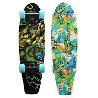 Teenage Mutant Ninja Turtles Turtle Power Graphic 21-Inch Cruiser Skateboard by PlayWheels