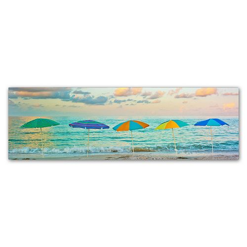 Trademark Fine Art Florida Party Of Five Canvas Wall Art