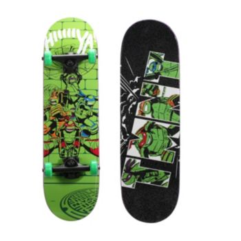 Teenage Mutant Ninja Turtles 28-Inch Lime Time Graphic Skateboard by PlayWheels