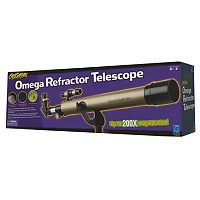Educational Insights Geosafari 200x Omega Refractor Telescope
