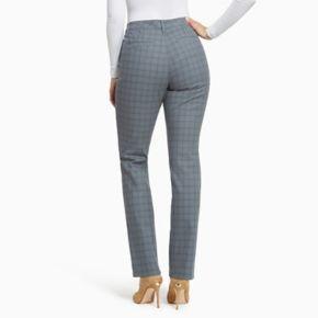 Women's Gloria Vanderbilt Anita Sateen Straight-Leg Pants