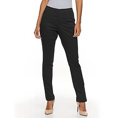 Women's Gloria Vanderbilt Anita Sateen Straight-Leg Pants