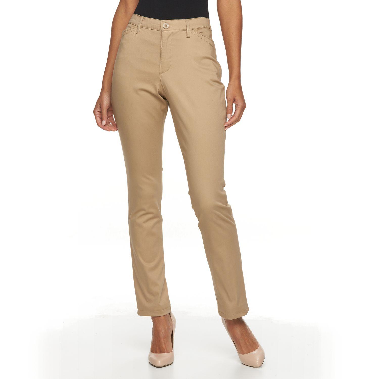 Straight Leg Khaki Pants For Women gT0qhDDn