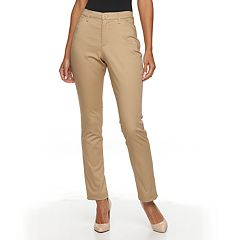 7283e6e14c3 Women s Gloria Vanderbilt Anita Sateen Straight-Leg Pants