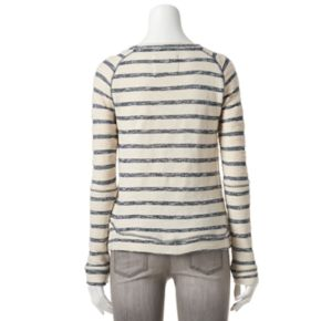 Women's SONOMA Goods for Life? Striped French Terry Sweatshirt