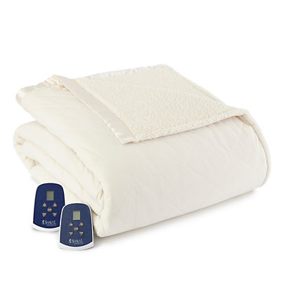 Micro Flannel® Heated Blanket
