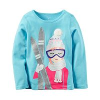 Girls 4-8 Carter's Graphic Thermal Tee