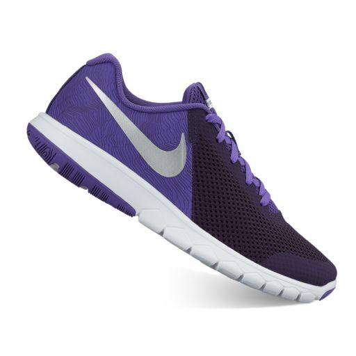 Nike Flex Experience 5 Print Grade School Girls' Running Shoes