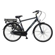 Hollandia Evado 3 Electric City 19-Inch Black Commuter Men's Bicycle