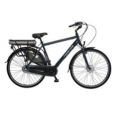 Hollandia Evado 3 Electric City 21-Inch Black Commuter Men's Bicycle