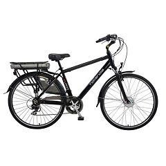 Hollandia Evado 7 Electric City 19-Inch Black Commuter Men's Bicycle
