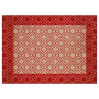 United Weavers China Garden Vedi Shitaki Framed Trellis Rug