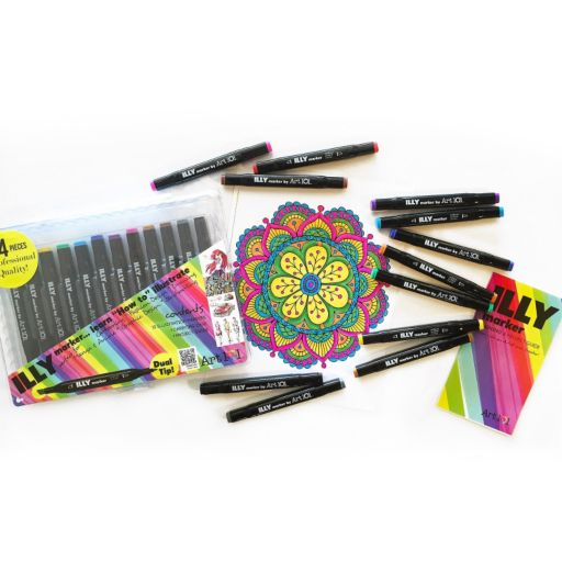Art 101 14-pc. ILLY Markers & Learning Guide Set
