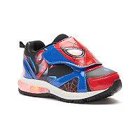 Marvel Ultimate Spider-Man Toddler Boys' Light-Up Shoes