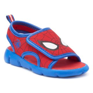 Marvel Spider-Man Toddler Boys' Sandals