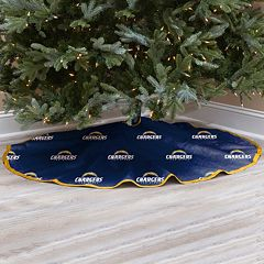 San Diego Chargers Christmas Tree Skirt
