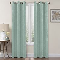 Regent Court Chevron Blackout Window Curtain Set