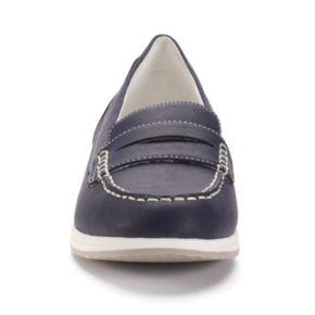 Croft & Barrow® Women's Moc-Toe Penny Loafers