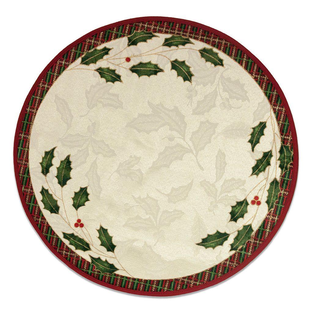 Lenox Holiday Nouveau Round Placemat 4-pk.