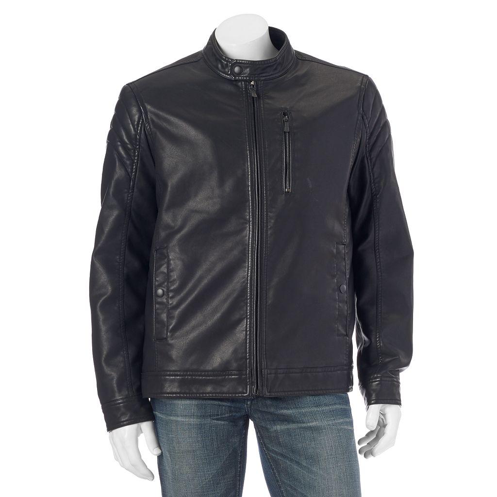 Big & Tall Apt. 9® Modern-Fit Faux-Leather Jacket