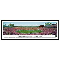 Wisconsin Badgers College Classic at Lambeau Field Framed Wall Art