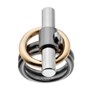 REED Tri Tone Toggle Ring