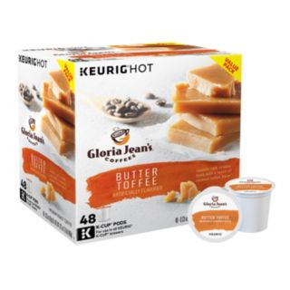 Keurig® K-Cup® Pod Gloria Jean's Butter Toffee Coffee - 48-pk.
