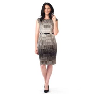 Women's ILE New York Dot Sheath Dress